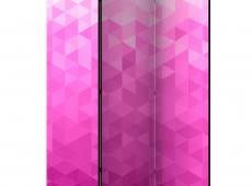 Paraván - PInk pixel [Room Dividers]